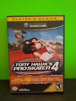 Tony Hawk's Pro Skater 4 (Nintendo GameCube, 2002) COMPLETE & TESTED