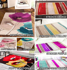 Rugs with Flair Solid Polyester Rugs