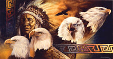 Jigsaw Puzzle Ethnic Native American Lakota Twilight 500 pieces NEW Made in USA