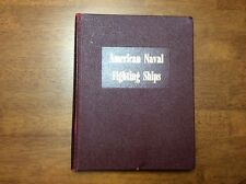 1959 Dictionary American Naval Fighting Ships Book USN Navy Battleships Submarin