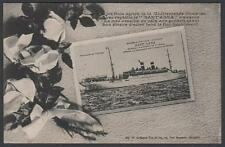 cartolina GUERRA NAVALE1914-1916 NAVE SANT'ANNA