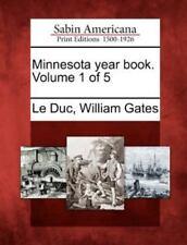 Minnesota Year Book. Volume 1 Of 5 (2012, Paperback)