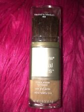 Neutrogena 40 Neutral to Medium Mineral Sheers Powder Foundation RARE- HTF