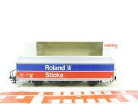BS538-0,5# Märklin H0/AC 84835 Güterwagen Roland Zwieback/Sticks NEM KK NEUW OVP