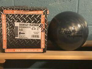 Hammer Gauntlet Platinum Silver 15lbs NIB & Undrilled - Perfect Spec's Overseas!