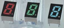 ROHM LA-301MB 7-Segment LED Display, CA Green 16 mcd RH DP 8mm