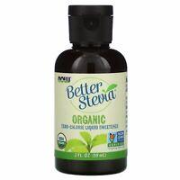 Organic Better Stevia, Zero-Calorie Liquid Sweetener, 2 fl oz (59 ml)