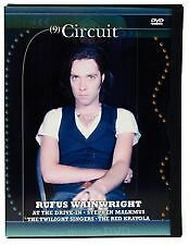 CIRCUIT MUSIC JOURNAL  9 : RUFUS WAINWRIGHT (DVD) R- ALL, NEW, FREE SHIPPING