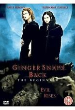 Ginger Snaps - Back Katharine Isabelle, Emily Perkins Brand New UK Region 2 DVD