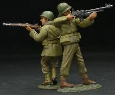 Figarti Pewter Ww2 American Eta-054 Lock And Load! Late War U.S. Infantry Mib