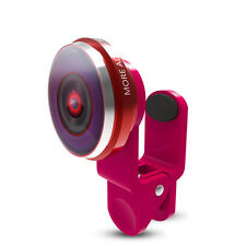 Cell Phone Fish Eye Macro Wide Angle Lens Clip-on 235° Camera For iPhone Samsung