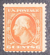 Travelstamps: 1917-1919 U.S. Stamps Scott # 506, Mint, no Gum, 6cents, MNG