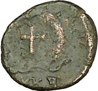 THEODOSIUS II 425AD Authentic Ancient Roman Coin Cross  i40195