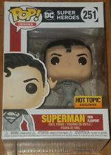 Funko Pop Heroes #251 Superman Flashpoint Hot Topic Exclusive In Hand