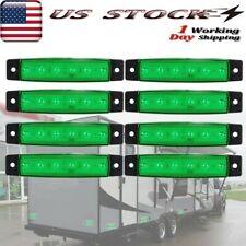 8X Green Rv Porch Exterior Outdoor Utility Lights Trailer Camper Lighting Fixtur