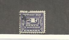 Canada, Postage Stamp, #J13 Used, 1933 Postage Due