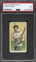 Rare 1909-11 T206 Chick Gandil Sovereign 460 Chicago Black Sox PSA 1.5