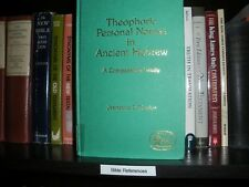 Theophoric Personal Names in Hebrew Jehovah New Testament Watchtower Research