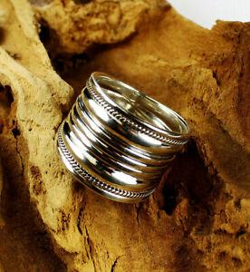 Großer, breiter Ring /Silber 925 /Handarbeit/ Sterlingsilber/ Große Größen!