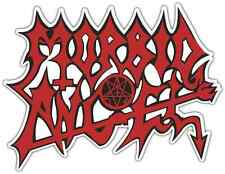 "Morbid Angel Death Metal Music Car Bumper Window Sticker Decal 5""X4"""