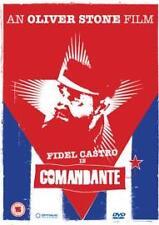 Comandante DVD, 2003 Fidel Castro,Oliver Stone,Documentary with the Cuban Leader