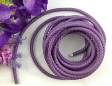 3 Meters of Purple Artificial Bolo Leather Cord 7mm #22672