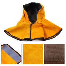 Fire Resistant Split Leather Hood For Protection Neck Shoulder Welding Hood Hat
