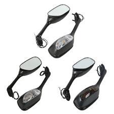 Rearview Mirrors w/ Turn Signals For Suzuki GSXR600/750 06-15 GSXR1000 2005-2015