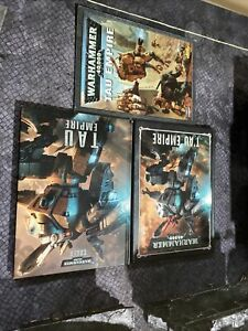Warhammer 40k 8th Edition Codex Tau Empire Plus Two Older Codex.