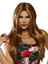 Red Carpet Natural Golden Red Adult Costume Wig