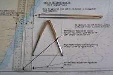 NAVIGATOR RULER - Instant Latstange/Lang & Distanzen - UK & North Europa version