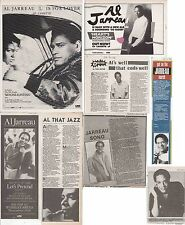 Al Jarreau : Cuttings Collection -adverts interviews-