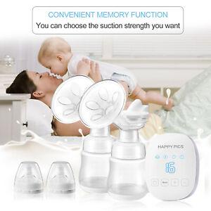 USB Electric Breast Pump Comfort Double Breastpump Bottle Moms Milk Extractor
