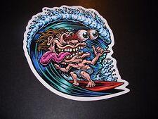 """JIMBO PHILLIPS Skate 5"""" Sticker SURF FREAK skating skateboard helmets decal"""