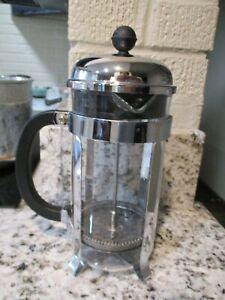 Bodum Chambord French Press Coffee and Tea Maker, 12 Ounce, Chrome