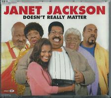 Janet Jackson - Doesn'T Really Matter / (Remixes) 2000 Uk Enhanced Cd Single
