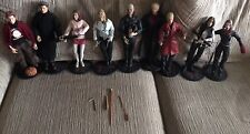 Buffy The Vampire Slayer 1/6 Scale Sideshow Lot of 9 figures Spike Willow Faith