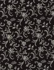 Fabric 100% Cotton Timeless Viney Negative C4782