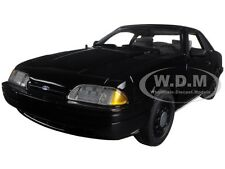 Defect 1992 FORD MUSTANG 5.0 FBI PURSUIT BLACKED OUT 1/18 BY GMP 18805
