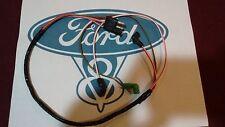 67 68 Ford Mustang v8 Engine Gauge Feed Wiring Harness 289 302 w/o tach w/o a/c