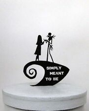 wedding cake topper - The Nightmare Before Christmas with Simply Meant to Be