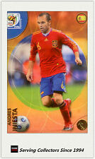 2010 Panini World Cup Soccer Trading Card Common No94 Andres Iniesta (España)