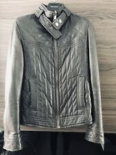 Dolce Gabbana - Leather Jacket - Authentic - Size 46 (SMALL)