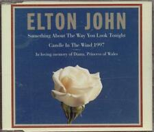 Elton John - Something About The Way You Look Tonight/Candle In The Wind Cd Mint