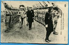 CPA PHOTO: 1914 - Revue des troupes des Indes / Guerre 14-18