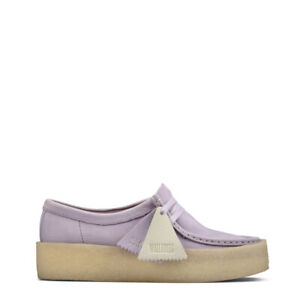 Clarks Originals Womens Wallabee Cup Shoe Lilac - SALE!!