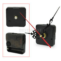 Ersatz Quarz Uhrwerk Quarzuhrwerk+3 Zeiger 56x56x16mm Zubehör Schwarz  SKV