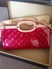 ❤️Louis Vuitton Red Patent Empreinte Tote w/detachable strap. PERFECT!! 🎁