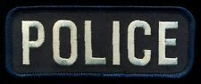 POLICE NameTag Patch R-2