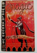 "Sept.1960""The World Around Us"" Comics Magazine ""The Illustrated Story of Magic""*"